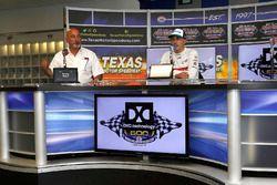 Bobby e Graham Rahal, Rahal Letterman Lanigan Racing Honda, annunciano il rinnovo del contratto per 5 anni