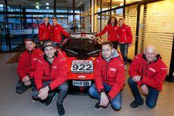 #922 KTM X-Bow GT4: Laura Kraihamer, Naomi Schiff; #925 KTM X-Bow GT4, Isert Motorsport: Max Friedhoff, Volker Strycek, Ferdinand Stuck, Johannes Stuck
