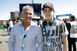 Mick Doohan with his son Jack Doohan