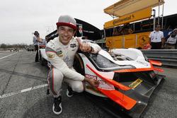 Polesitter Helio Castroneves, Team Penske Acura