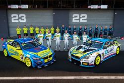 #44 BMW Team SRM BMW M4 GT4: Dean Grant, Xavier West, Cameron Hill, #100 BMW Team SRM BMW M6 GT3: Steven Richards, Timo Glock, Phillip Eng