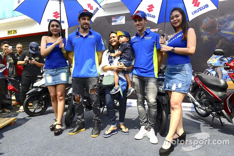 Alex Rins, Team Suzuki MotoGP, Andrea Iannone, Team Suzuki MotoGP