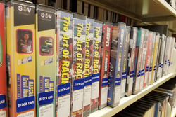 Stock Car Racing Collection en la Biblioteca Belk