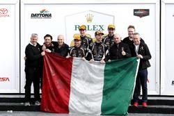 Winner GTD: #11 GRT Grasser Racing Team Lamborghini Huracan GT3: Rolf Ineichen, Mirko Bortolotti, Fr