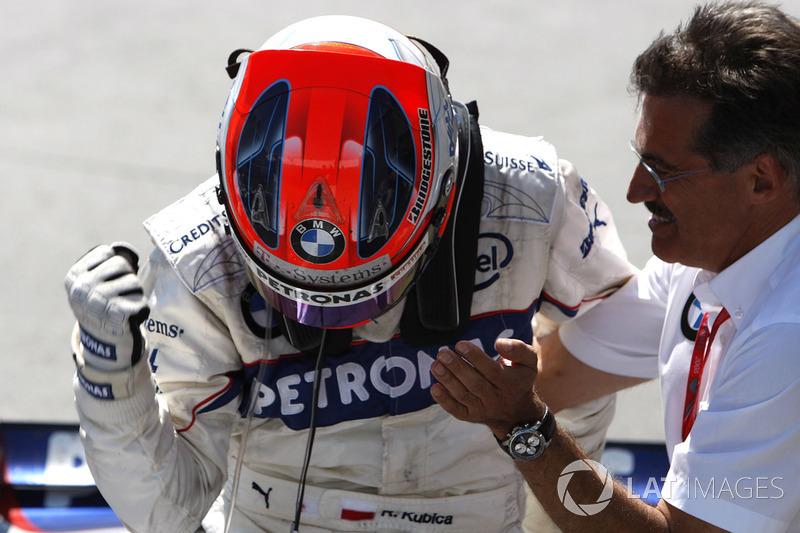 Mario Theissen, Dyrektor, BMW Motorsport, zwycięzca Robert Kubica, BMW Sauber F1.08, Grand Prix Kanady 2008,