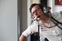 Andrew Shovlin, Chief Race Engineer, Mercedes AMG