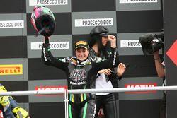 Podio SSP300: la ganadora Ana Carrasco