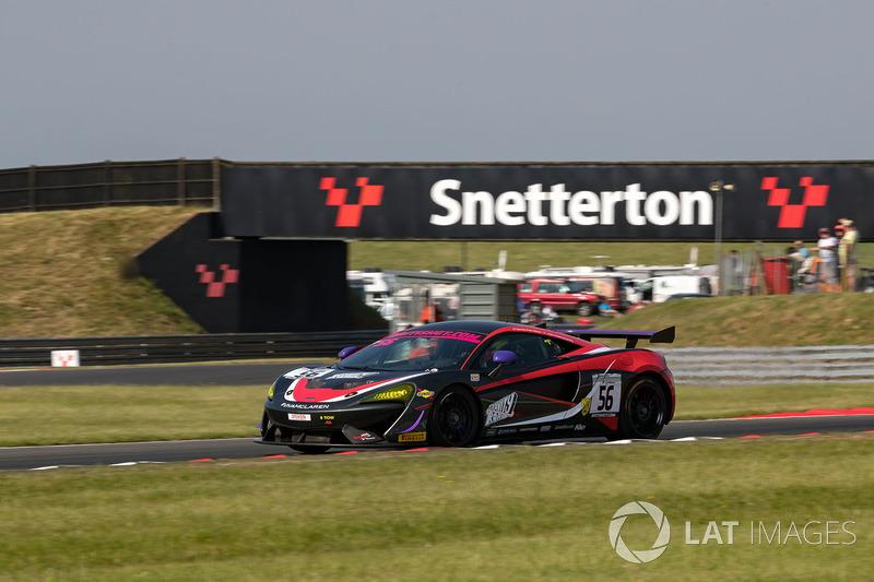 #56 Tolman Motorsport Ltd - McLaren 570S GT4 - David Pattison, Joe Osborne