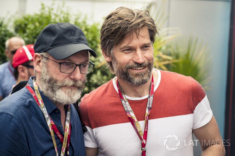 Liam Cunningham, e Nikolaj Coster-Waldau