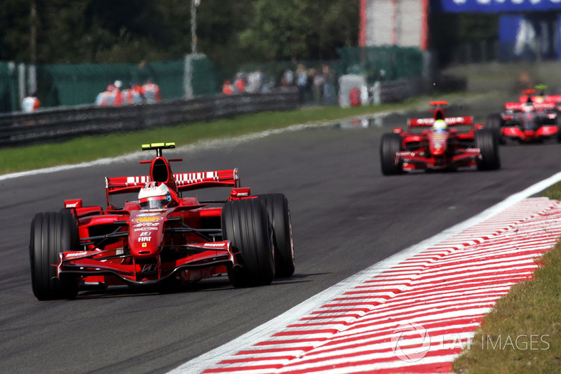 2007: Кими Райкконен, Ferrari F2007