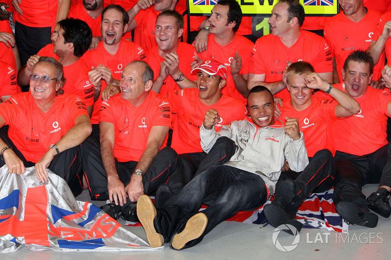 Feest bij McLaren