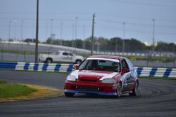 #124 MP4C Honda Civic, Julio Torres, J&A Autosports