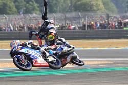 Chute : Marco Bezzecchi, Prustel GP, Jorge Martin, Del Conca Gresini Racing, Fabio Di Giannantonio, Del Conca Gresini Racing Moto3