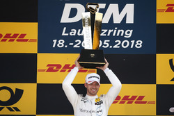 Podium: Race winner Edoardo Mortara, Mercedes-AMG Team HWA