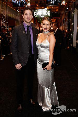 Denny Hamlin ve kız arkadaşı Jordan Fish
