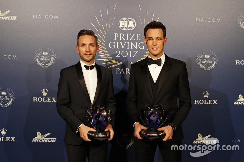 Thierry Neuville y Nicolas Gilsoul