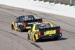 Dalton Sargeant, GMS Racing, Chevrolet Silverado Performance Plus Motor Oil and Cody Coughlin, GMS Racing, Chevrolet Silverado Jeg's.com