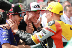 Maverick Vinales, Aleix Espargaro, Gabriel Rodrigo, RBA Racing Team