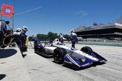 Пит-стоп: Захари Клэмэн де Мело, Dale Coyne Racing Honda