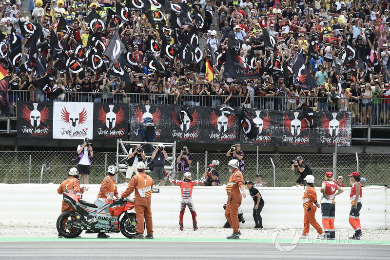 MotoGP Catalunya: Jorge Lorenzo, Ducati Team