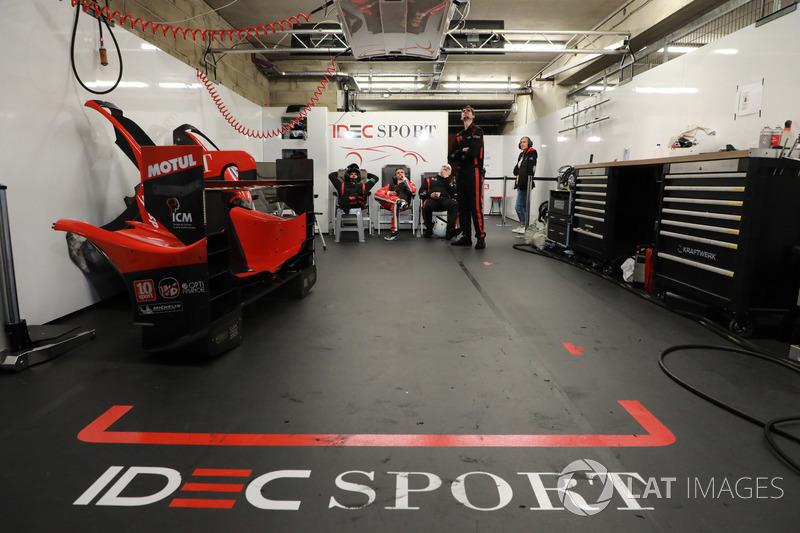IDEC Sport team area