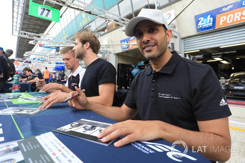 #88 Dempsey Proton Competition Porsche 911 RSR: Khaled Al Qubaisi