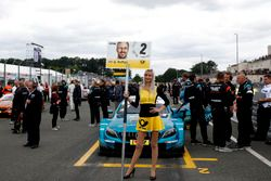 Gridgirl van Gary Paffett, Mercedes-AMG Team HWA