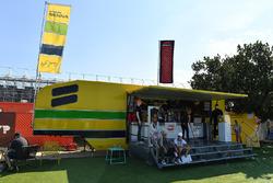 Le stand Ayrton Senna
