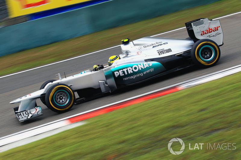 2012 : Mercedes W03