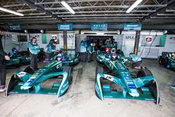 Bruno Spengler, Andretti Formula E Team & Colton Herta, Andretti Formula E Team