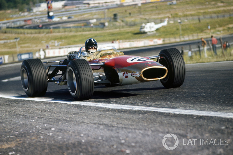 1968 Graham Hill, Lotus