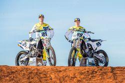 Max Anstie en Gautier Paulin, Rockstar Husqvarna Factory Racing