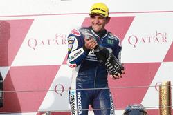 Podium: winnaar Jorge Martin, Del Conca Gresini Racing Moto3