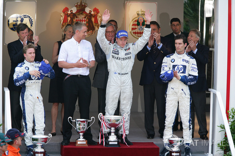 Podium: 1. Kimi Raikkonen, McLaren; 2. Nick Heidfeld, Williams; 3. Mark Webber, Williams