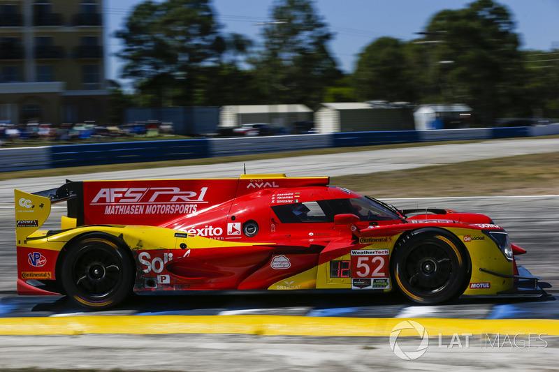 #52 AFS PR1 Mathiasen Motorsports Ligier LMP2, P: Sebastian Saavedra, Gustavo Yacaman, Roberto Gonzalez