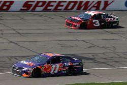 Denny Hamlin, Joe Gibbs Racing, Toyota Camry FedEx Express, Austin Dillon, Richard Childress Racing,