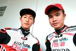 Kaito Toba, Honda Team Asia, Nakarin Atiratphuvapat, Honda Team Asia