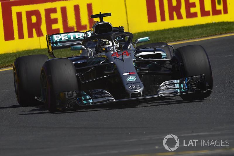 Lewis Hamilton, Mercedes-AMG F1 W09 EQ Power