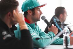 Luca Filippi, NIO Formula E Team, in the press conference