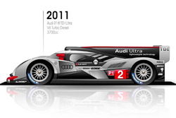 2011 Audi R18 TDI Ultra