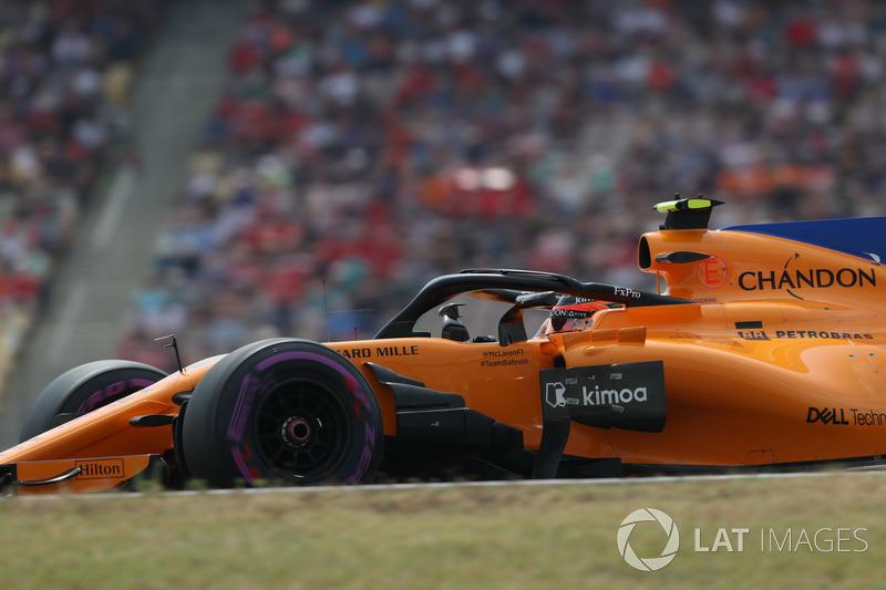 19: Stoffel Vandoorne, McLaren MCL33, 1'14.401