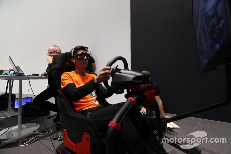 McLaren World's Fastest Gamer participant
