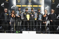 Podium North America: race winners Trent Hindman, Ricardo Agostini, Prestige Performance, second pla