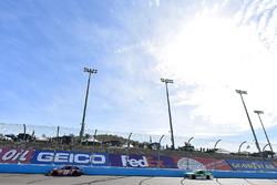 Denny Hamlin, Joe Gibbs Racing Toyota and Jeffrey Earnhardt, Circle Sport – The Motorsports Group Ch
