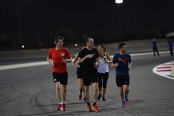 Robert Kubica, Williams runs the track