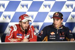 Andrea Dovizioso, Ducati Team, Marc Marquez, Repsol Honda Team