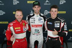 Basın toplantısı: #55 Spirit of Race, Ferrari F488 GTE: Matt Griffin, #23 Panis Barthez Competition,