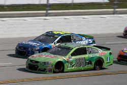 Dale Earnhardt Jr., Hendrick Motorsports Chevrolet Jimmie Johnson, Hendrick Motorsports Chevrolet