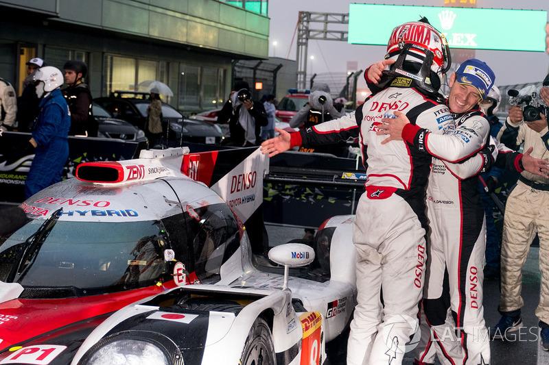 Race winners #8 Toyota Gazoo Racing Toyota TS050 Hybrid: Anthony Davidson, Kazuki Nakajima