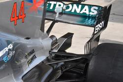 Mercedes AMG F1 detail